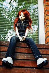 Fasolia, the old F-11. (Athanassia) Tags: doll pop sd bjd resin superdollfie volks f11 abjd optionalhead dollfiedreamii