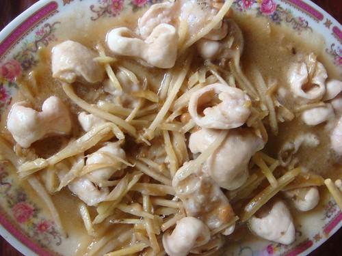 新埔 劉家莊燜雞-客家炒大腸