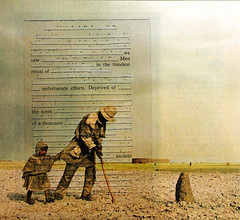 Tmeless Ritual | Collage Poem (Nathaniel Whitcomb | Think or Smile) Tags: old poem desert young timeless edit cutup