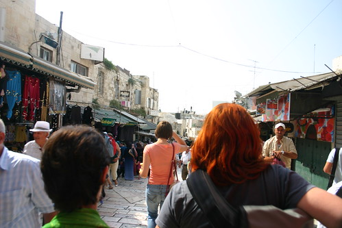 Entering Damascus Gate