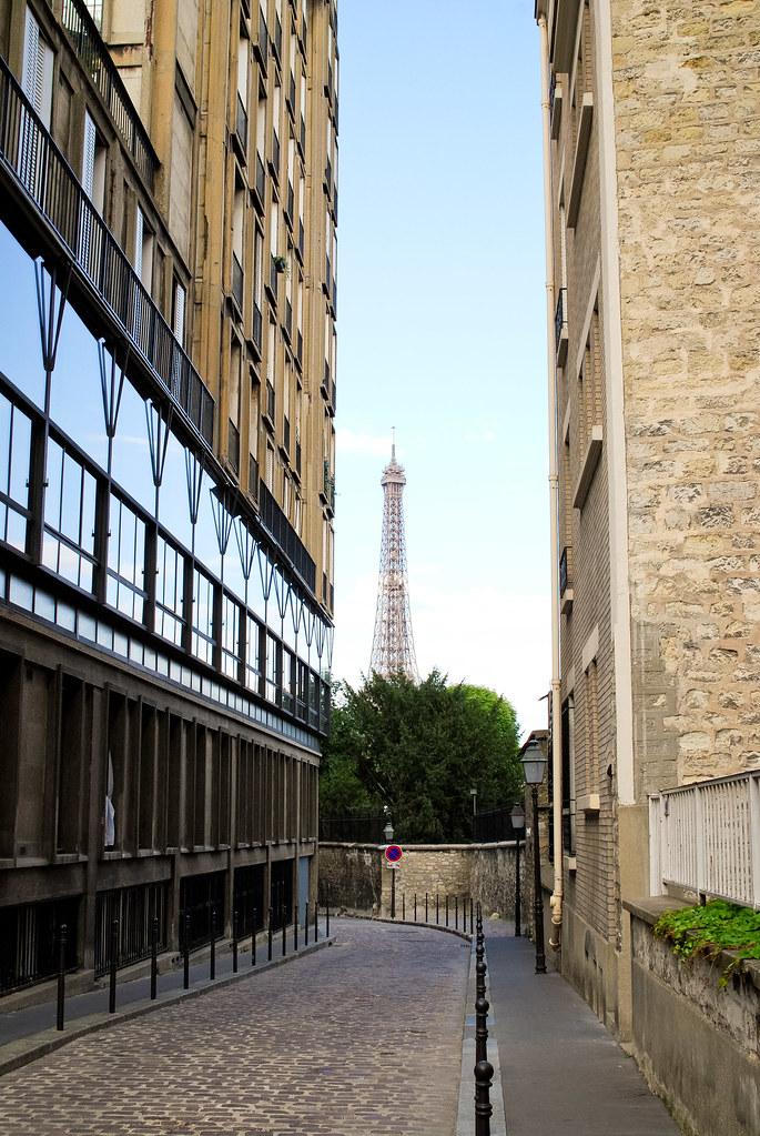 Vue de la rue Berton