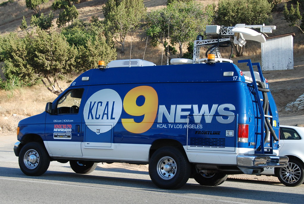 channel 9 news los angeles. kcal 9 news ford van (navymailman) tags: california 2 news ford fire los channel angeles