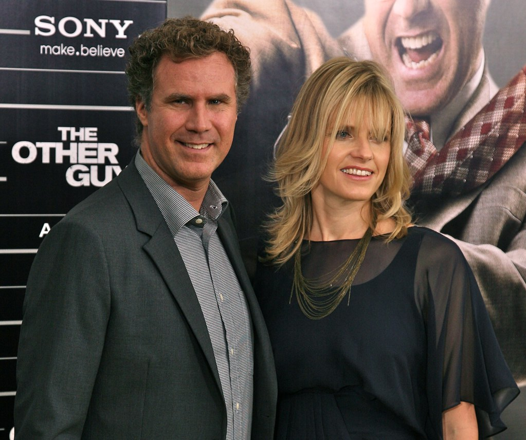 "Will Ferrell and wife Viveca Paulin, ""The Other Guys"" Film Premiere, New York"