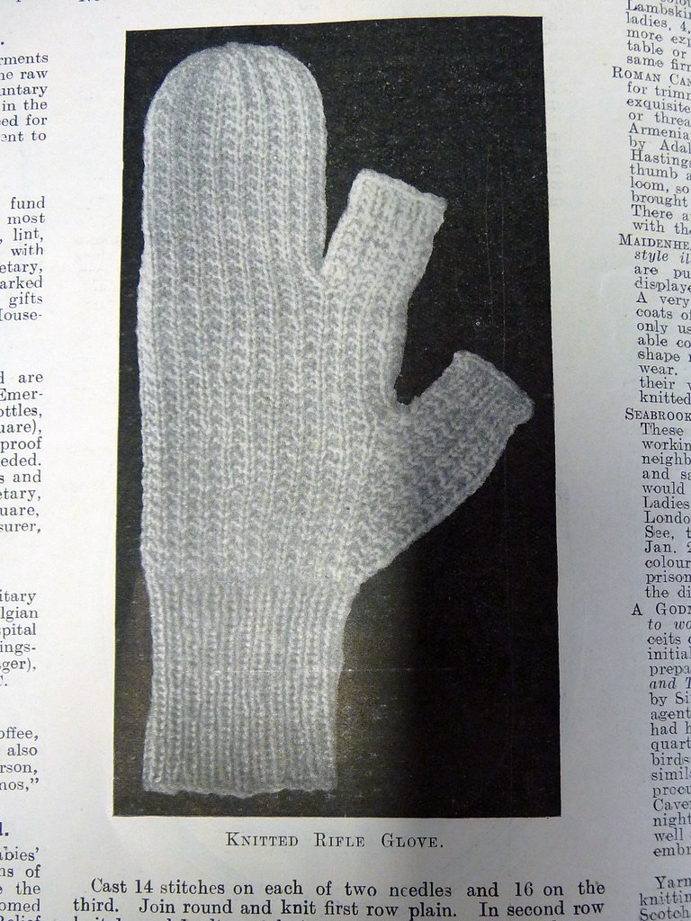 Knitted Rifle Glove