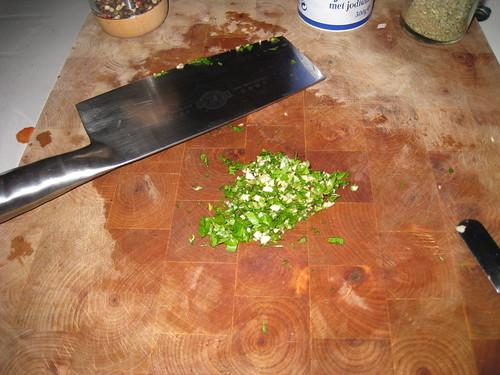 Pâtes à la sauce aubergine et saucisse 06