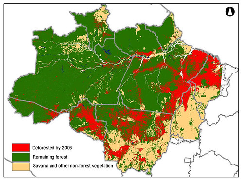 Arc of Amazon Deforestation Brazil
