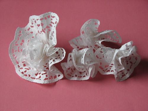 Paper Doily Flower 011