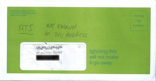 Sinister envelope