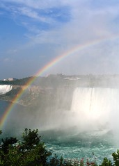 Rainbow at Niagara Falls (jrhampton) Tags: niagarafalls rainbow ontariocanada themelight 525of2010