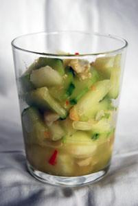 gurkenmelonensalat