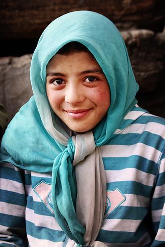 Indian Ladakhi girl's photo