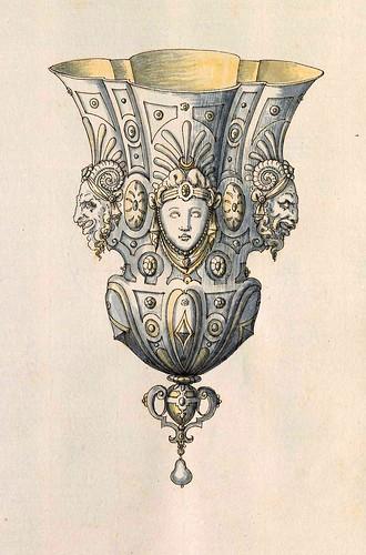 005-Copa decorativa-Entwürfe für Prunkgefäße in Silber mit Gold-BSB Cod.icon.  199 -1560–1565- Erasmus Hornick