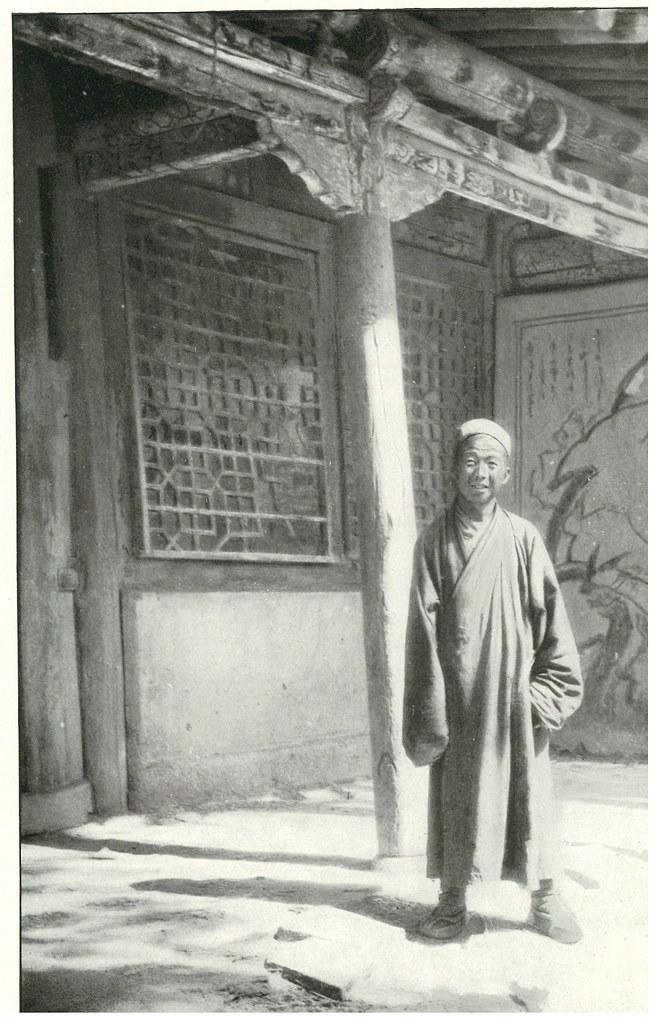 Wang Tao-Shih (Wang Yuanlu), Toaist priest at the 'Caves of the Thousand Buddhas'.