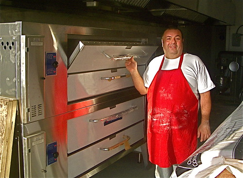 Vito with new ovens
