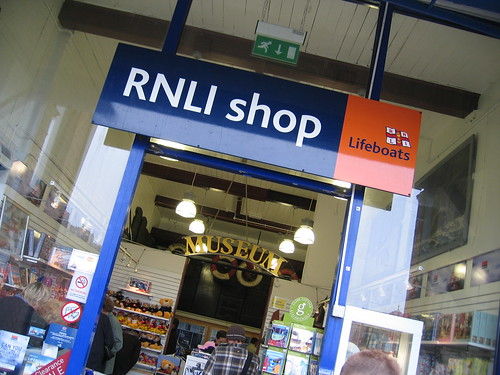 Whitby RNLI shop and museum