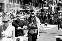 New York NY  7-31-2010 (jimboyle93) Tags: street new york city woman man hot girl photography dude latin boner hung bulge