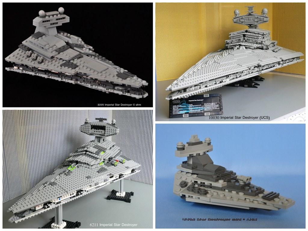Star Wars Lego Imperial Star Destroyers