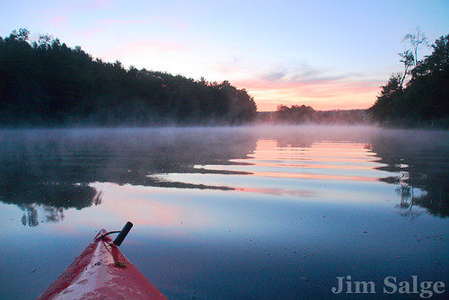 Dawn on the Suncook River