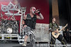 Five Finger Death Punch @ Rockstar Energy Drink Mayhem Festival, DTE Energy Music Theatre, Clarkston, MI - 08-06-10