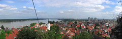 Looking over Belgrade from Zemun