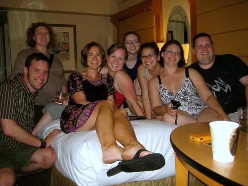 Daniel, Emily, Lora, me, Crystal, Kat, Cat, Alan