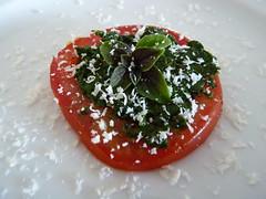 Tomaten Basilikum Salat