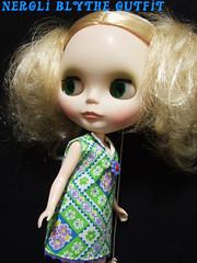 Retro tropical dress 1