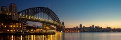 Sydney Harbour Bridge (Leighton Wallis) Tags: bridge sunrise dawn sydney australia nsw coathanger parkhyatt therocks sydneyharbourbridge portjackson