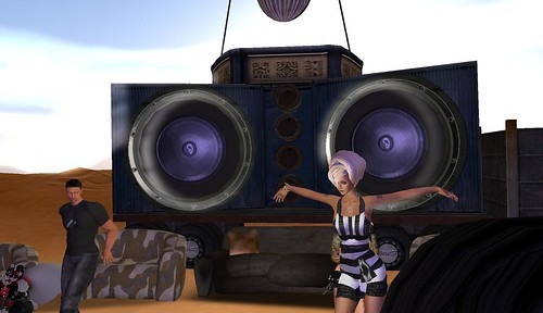 raftwet jewell at bassline island in second life