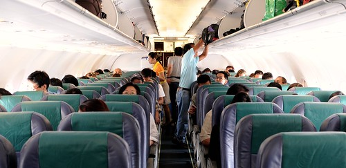 Interior del avión [Cebu Pacific]