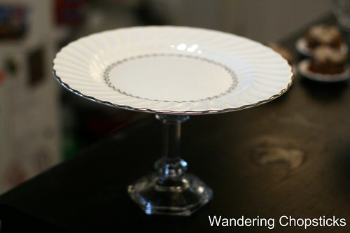 How to Make a Homemade Cake Stand 8