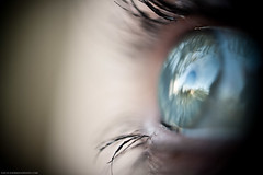 my mother's eye 2 (sennnn) Tags: family sun macro reflection eye canon outside eos day mm f18 50 helios 58 f20 44m4 1000d