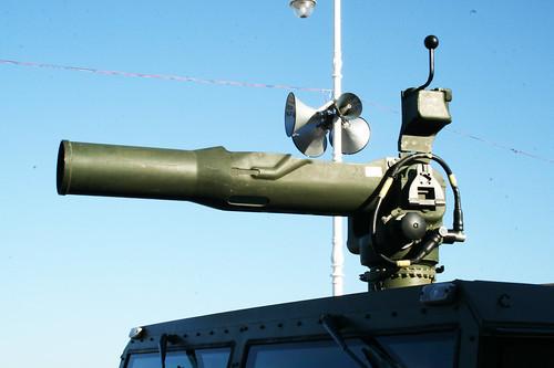 Lanzador de misiles antitanque TOW