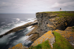 The Brough of Birsay, Orkney, Scotland (iancowe) Tags: ocean cliff lighthouse scotland orkney long exposure day cloudy head scottish atlantic stevenson clifftop brough marwick birsay broughofbirsay wbnawgbsct