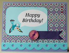 Birthday Bird Card