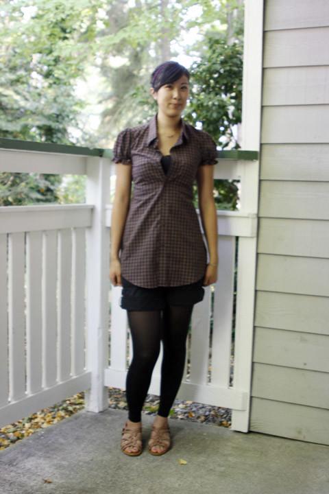 reconstructed mens shirt