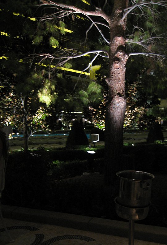 Botero Resturant poolside