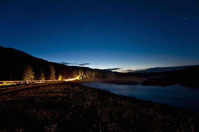 Madison River Dawn Twilight