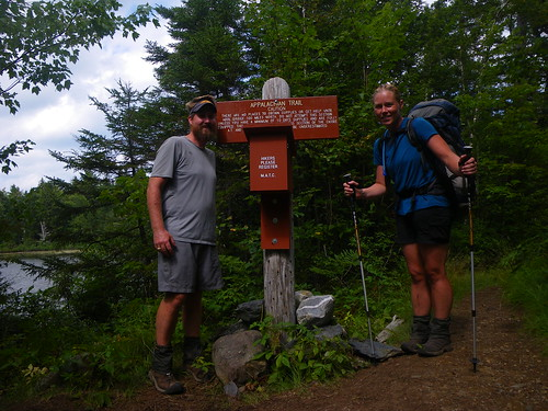 Entering the 100 Mile Wilderness
