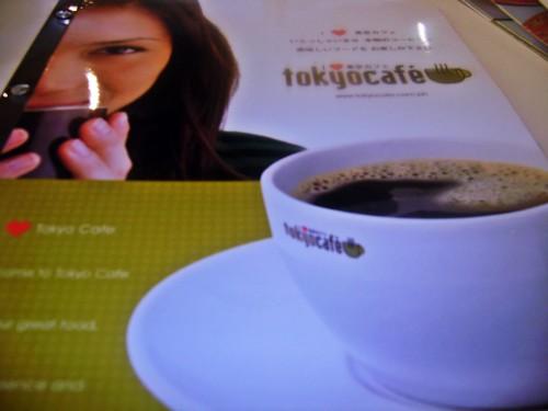 Tokyo Cafe Menu