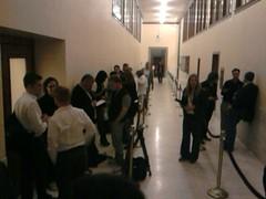Line getting longer. Hopefull jitters.