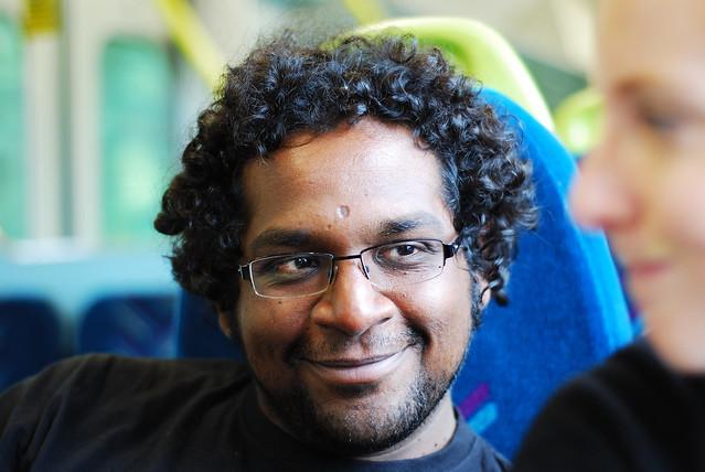 Chandrachoodan Gopalakrishnan, going nowhere in a hurry, UK