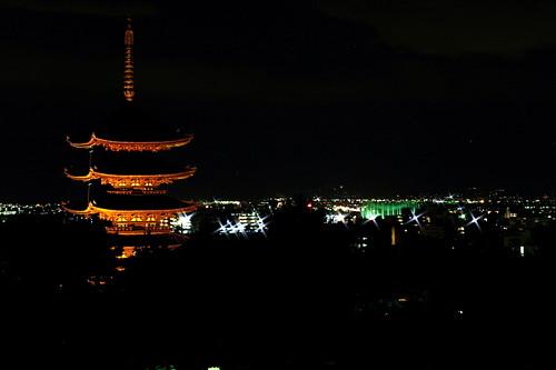 奈良の夜景