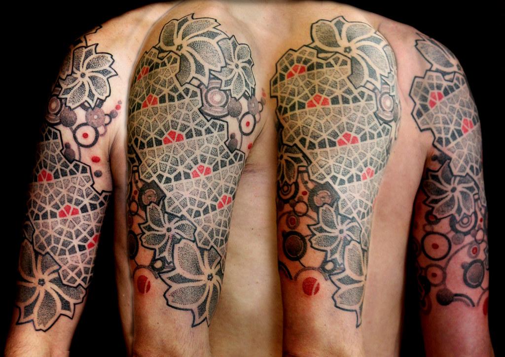 e51f1e0e7 Sammy (Vincent Hocquet - Beautiful Freak Tattoo) Tags: black art geometric  tattoo artwork