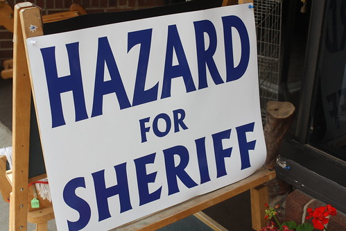 Hazard for Sheriff