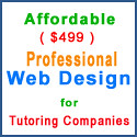 Affordable Professional Web Design for Tutoring Company
