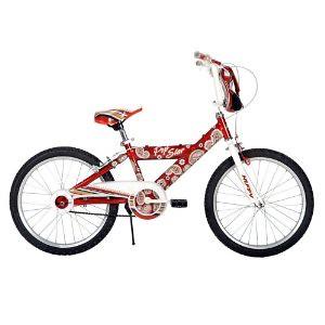 Huffy Pop Star AMP Bike, Red/White, 20-Inch