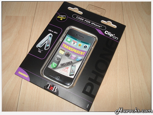 T'nB Clip'on Case for iPhone 4 - 01