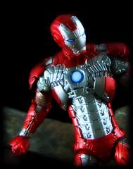 Hasbro Iron Man 2 Movie Series - Iron Man Mark V Armor [Walmart Exclusive 6 Inch] (Ed Speir IV) Tags: man movie toy actionfigure book portable iron comic mark ironman walmart v armor figure marvel stark exclusive markv hasbro 6inch