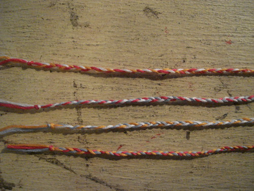 how to make friendship bracelets. homemade friendship bracelets